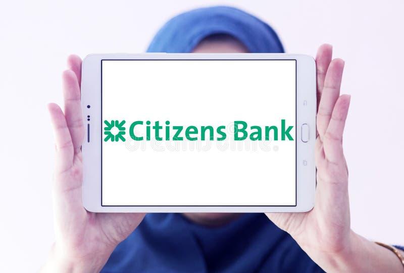 Logotipo del banco de los ciudadanos fotos de archivo