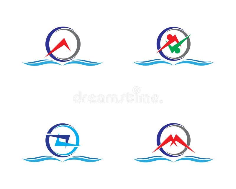 Logotipo del c?rculo ilustración del vector
