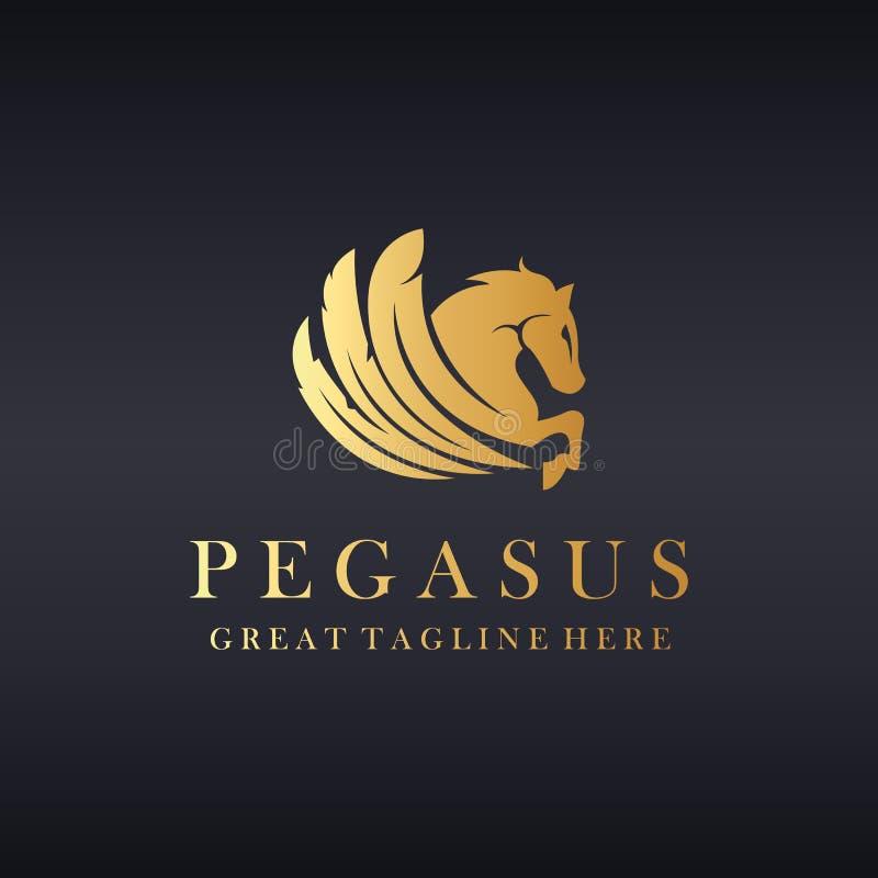 Logotipo del caballo libre illustration