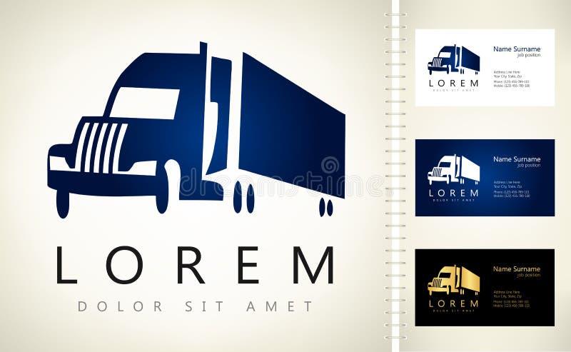 Logotipo del camión libre illustration