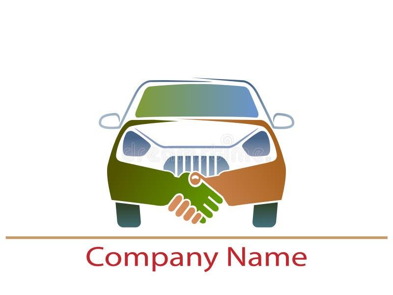 Logotipo del coche ilustración del vector
