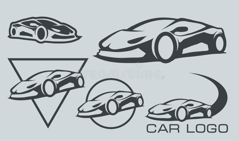 Logotipo del coche stock de ilustración