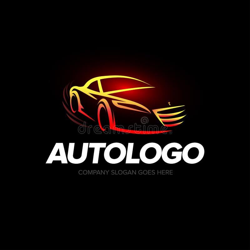 Logotipo Del Coche Del ` De Autologo Del ` - Servicio Y Reparación ...