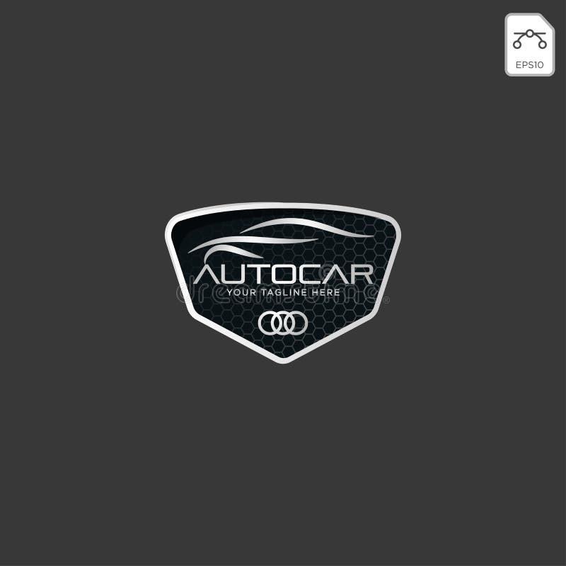 Logotipo del coche en la línea simple vector de la plantilla del diseño gráfico - vector libre illustration