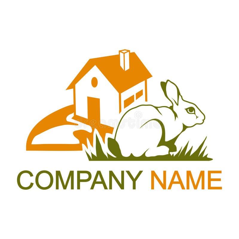 Logotipo del conejo stock de ilustración