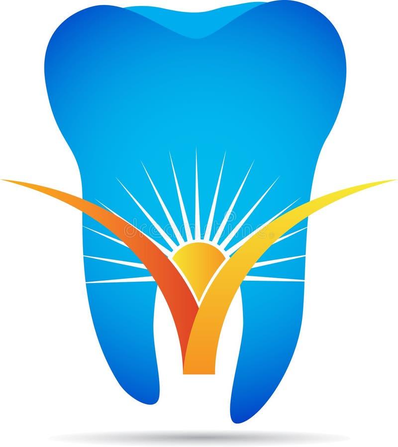 Logotipo del dentista libre illustration
