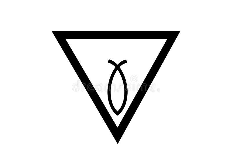 Logotipo del extracto del concepto de la vagina de la belleza, símbolo de la muestra o marcar el fondo aislado o blanco libre illustration