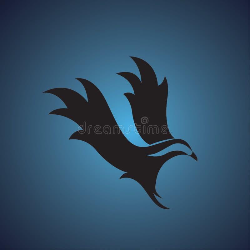 Logotipo del halcón fotografía de archivo