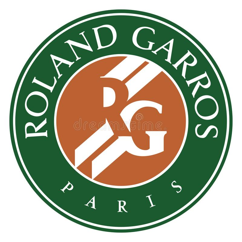 Logotipo del icono de Roland Garros libre illustration