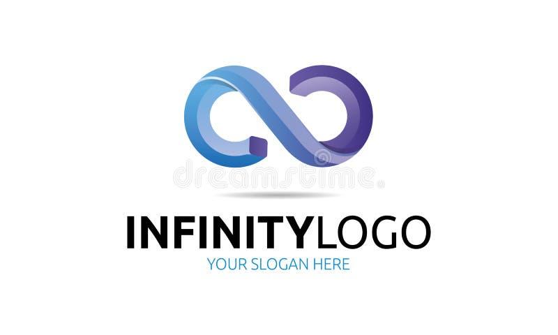 Logotipo del infinito stock de ilustración