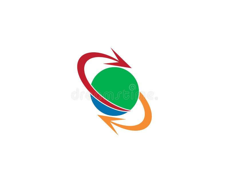 Logotipo del intercambio del círculo libre illustration