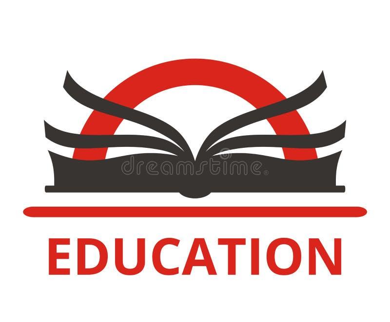 Logotipo 5 del libro libre illustration