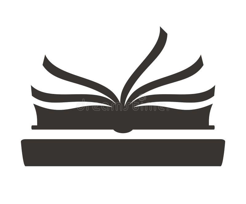 Logotipo 7 del libro ilustración del vector