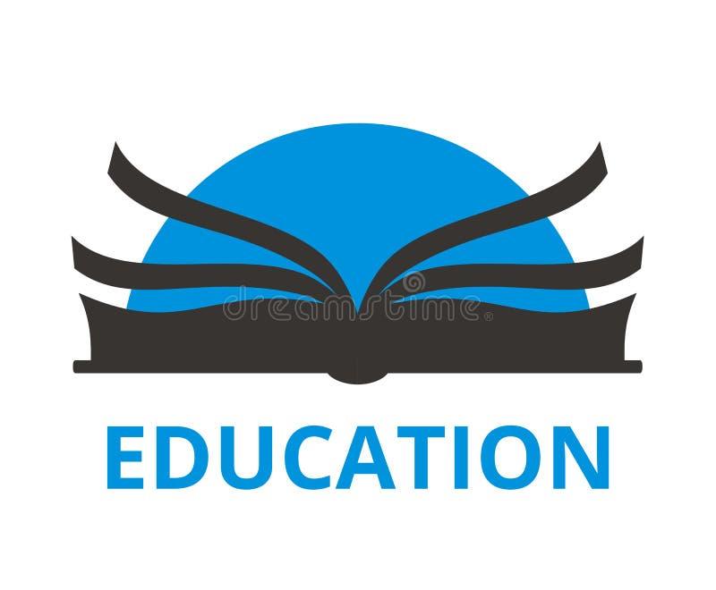 Logotipo 3 del libro ilustración del vector