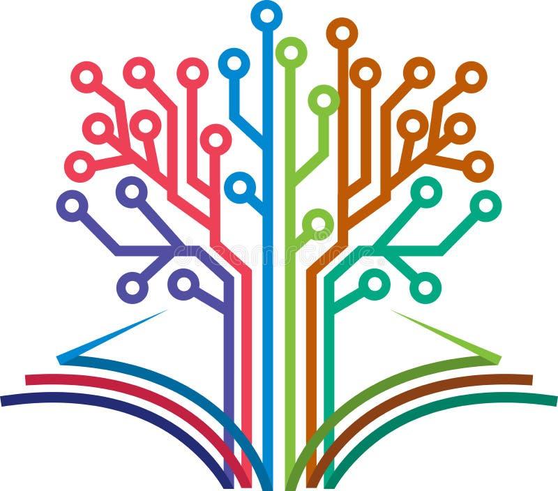 Logotipo del libro del circuito libre illustration