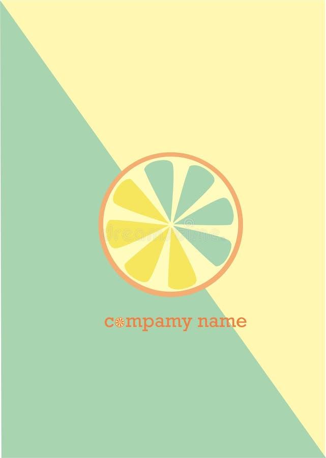 Logotipo del limón imagen de archivo