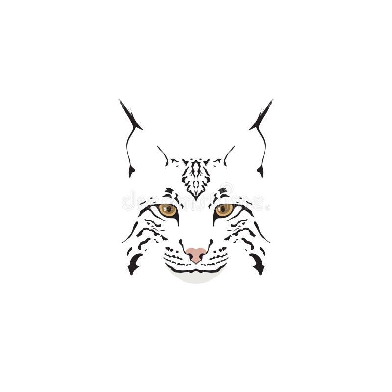 Logotipo del lince ilustración del vector