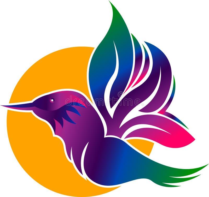 Logotipo del martín pescador libre illustration