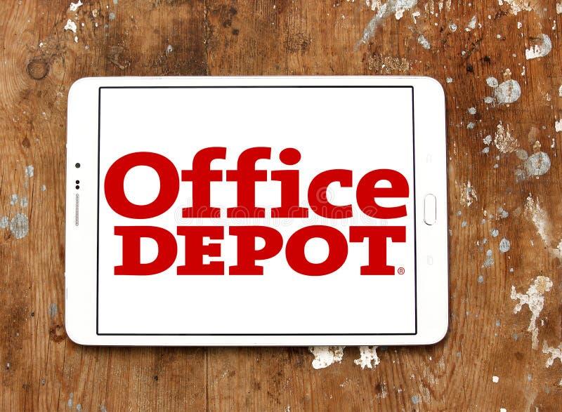 Logotipo del minorista de Office Depot imagen de archivo