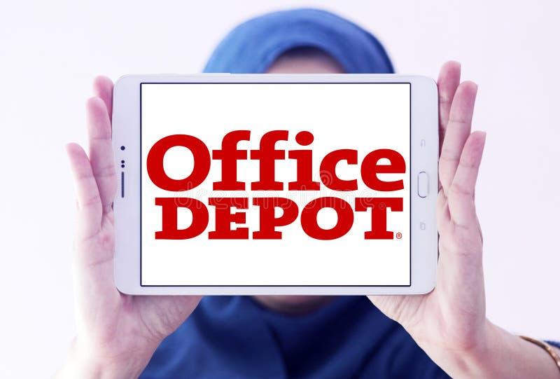 Logotipo del minorista de Office Depot imagenes de archivo