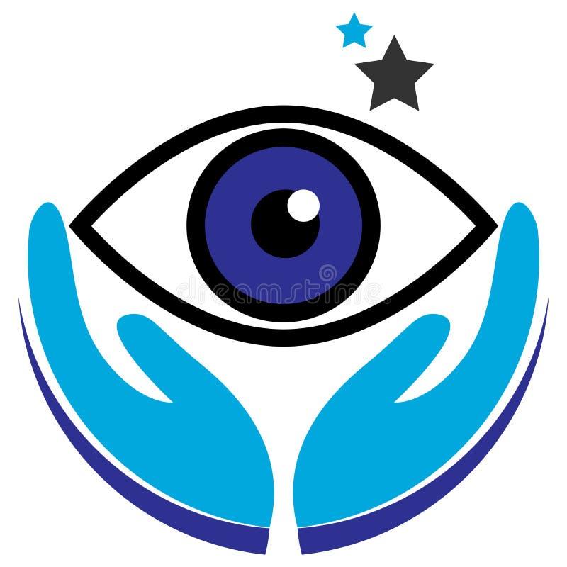Logotipo del ojo libre illustration