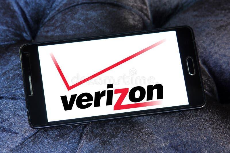 logotipo del operador móvil del verizon fotos de archivo