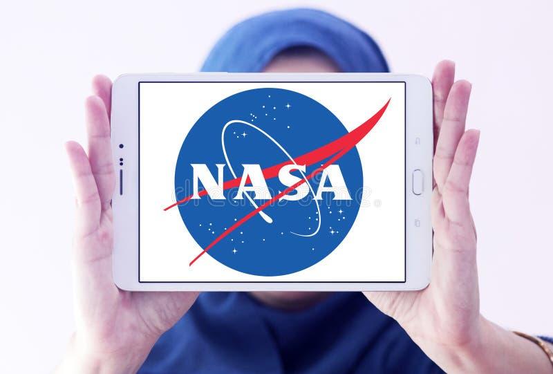 Logotipo del organismo aeroespacial de la NASA imagen de archivo libre de regalías