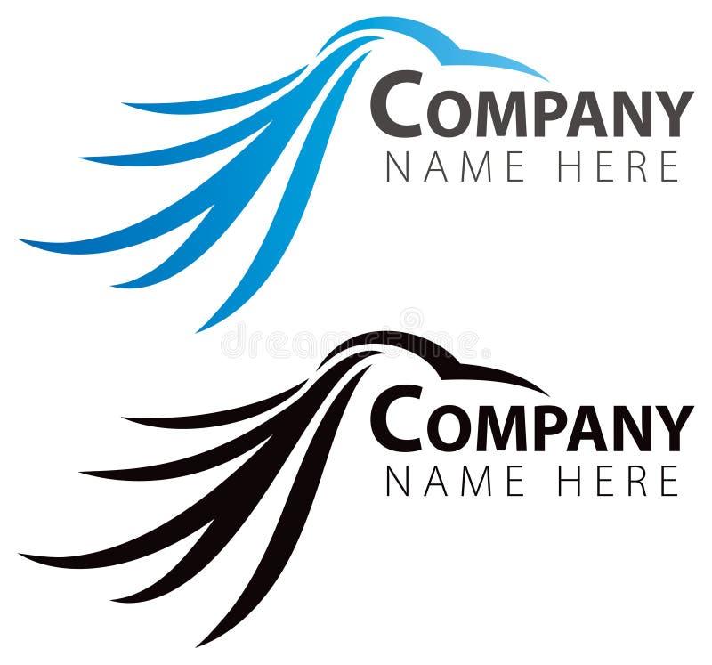 Logotipo del pájaro stock de ilustración