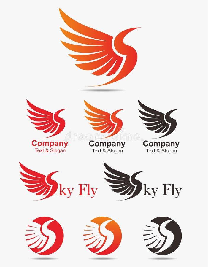 Logotipo del pájaro libre illustration