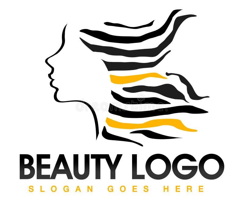 Logotipo del pelo de la belleza libre illustration