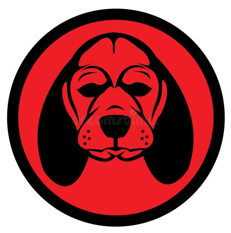 Logotipo del perro fotos de archivo