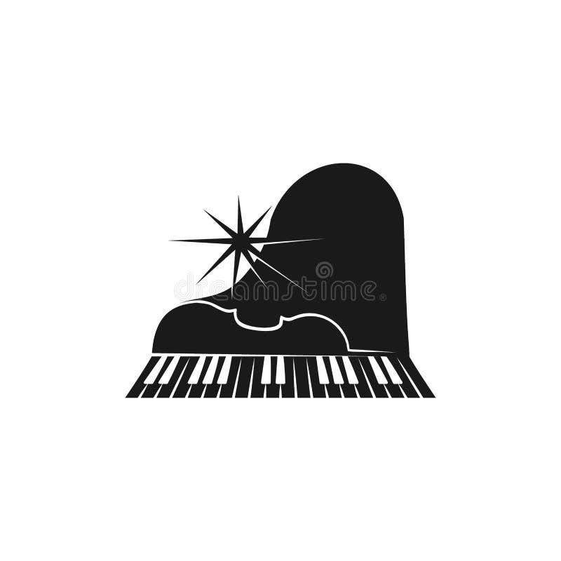 logotipo del piano libre illustration