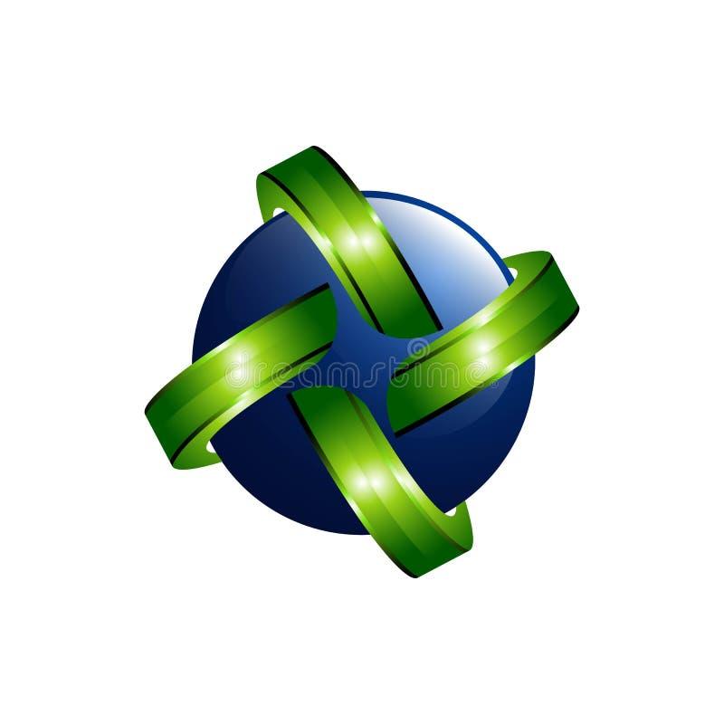 Logotipo del planeta del vector Vector de la órbita y logotipo del satélite logotipo del cosmos El mejor logotipo del planeta Log ilustración del vector