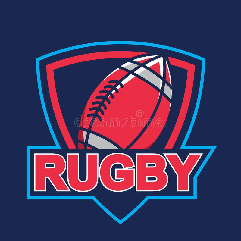 Logotipo del rugbi, americano Logo Sport libre illustration