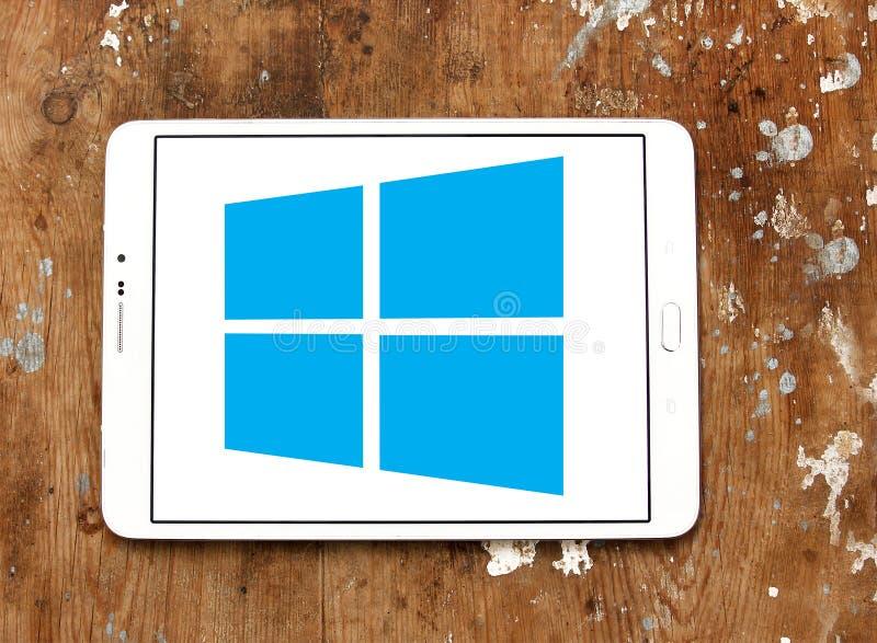 Logotipo del sistema operativo Windows fotografía de archivo libre de regalías