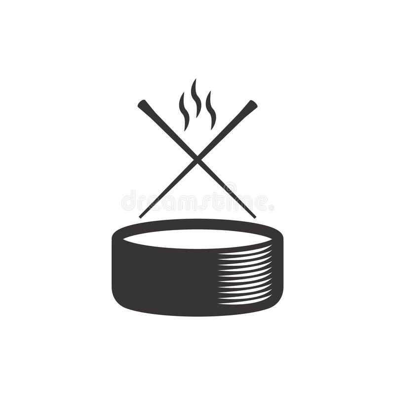 Logotipo del sushi foto de archivo libre de regalías