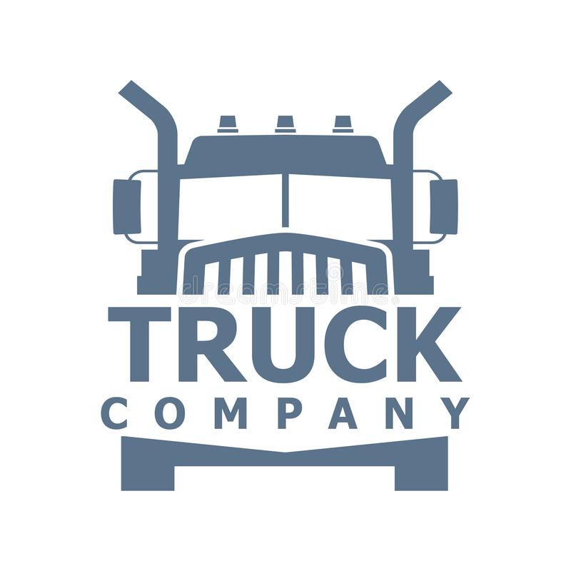 Logotipo del vector del camión ilustración del vector