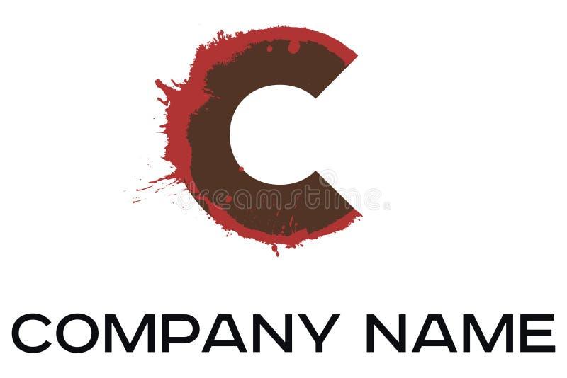 Logotipo del vector de la letra C libre illustration