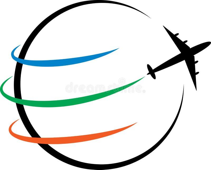 Logotipo del viaje libre illustration