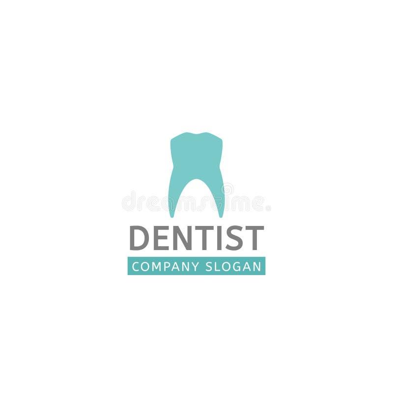 Logotipo dental de la clínica libre illustration