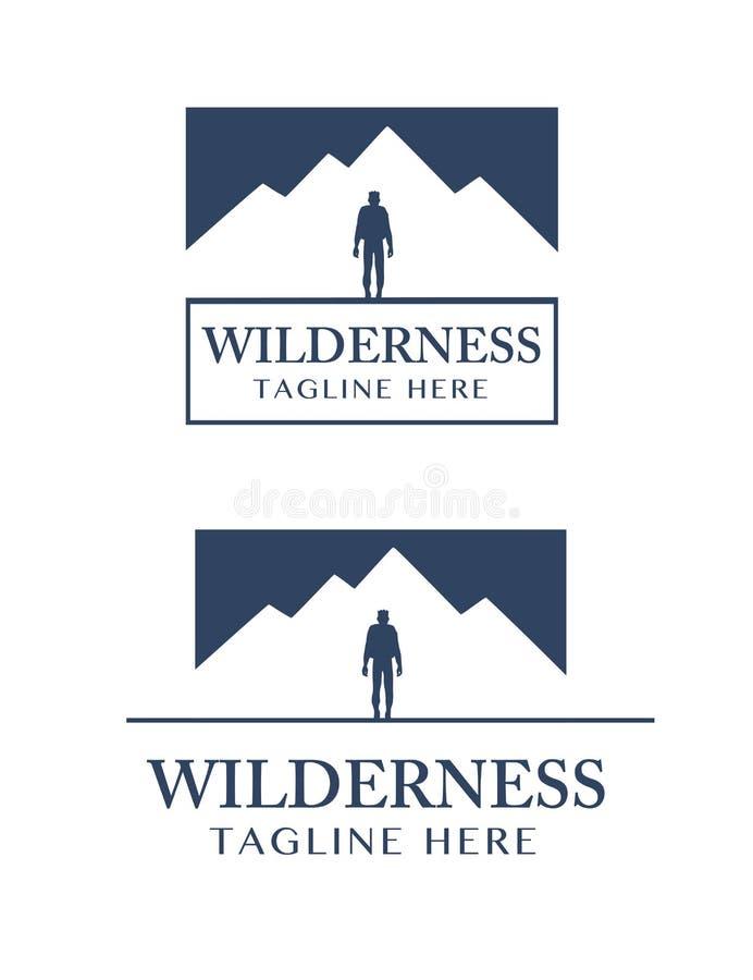 Logotipo determinado del desierto 2, escalable y imágenes de archivo libres de regalías