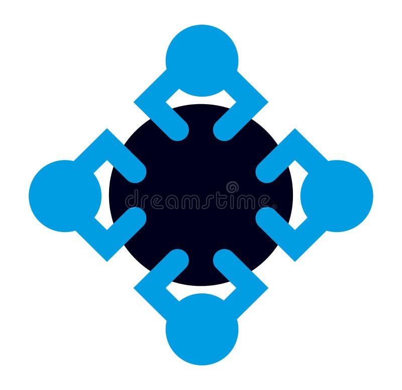 Logotipo do ícone da oficina ilustração do vetor