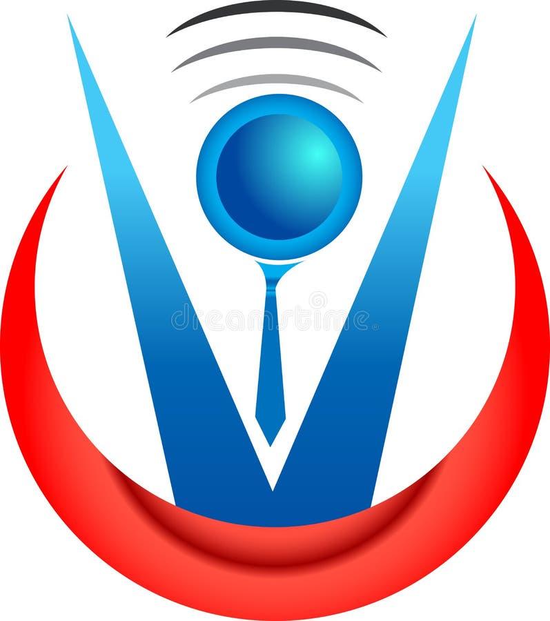 Logotipo do advogado ilustração do vetor