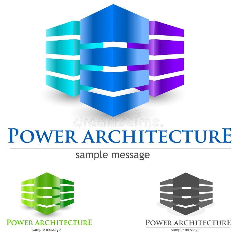 Logotipo do alojamento ilustração stock