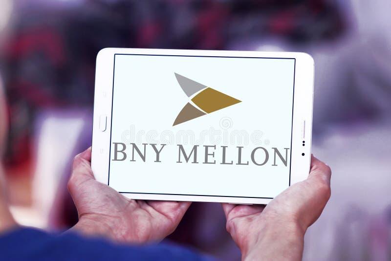 Logotipo do banco de BNY Mellon imagens de stock
