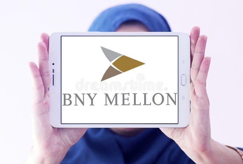 Logotipo do banco de BNY Mellon fotografia de stock