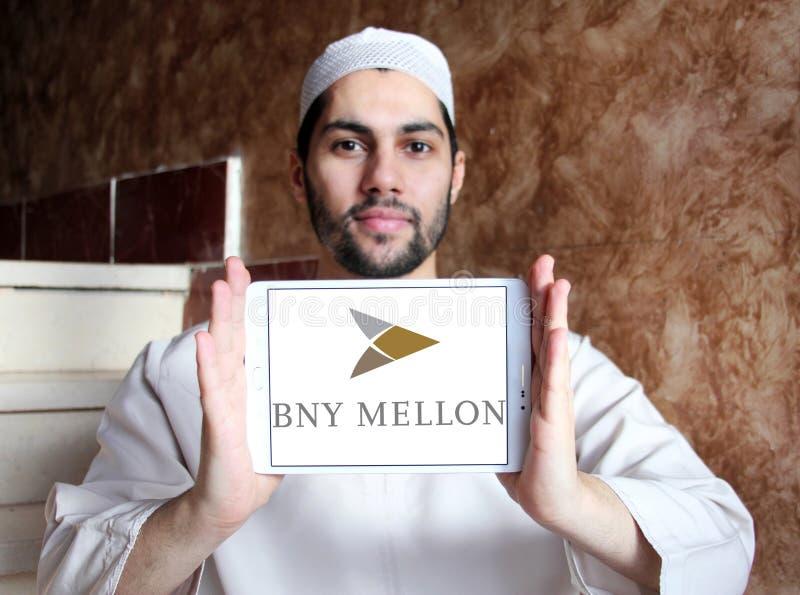 Logotipo do banco de BNY Mellon foto de stock
