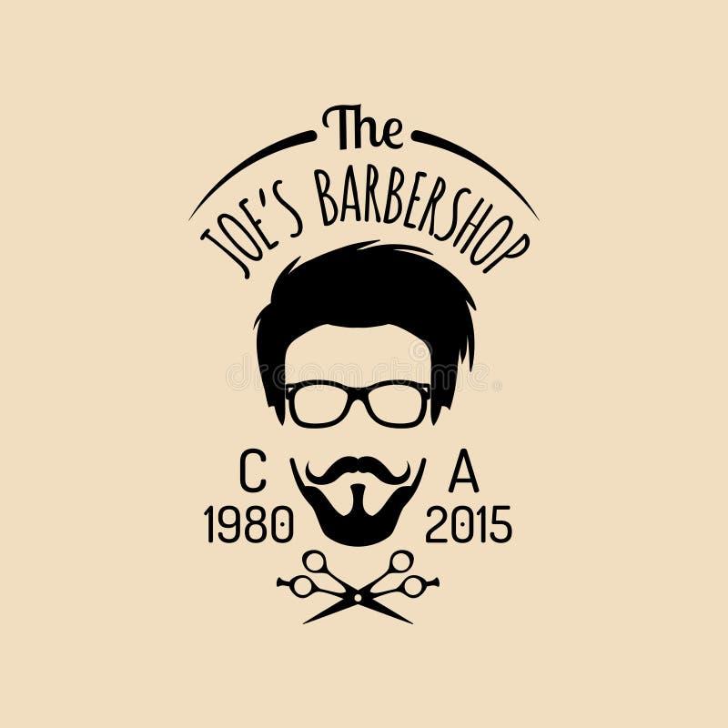 Download Logotipo Do Barbeiro Do Moderno Do Vintage Do Vetor Ícone Ou  Crachá Do Salão De