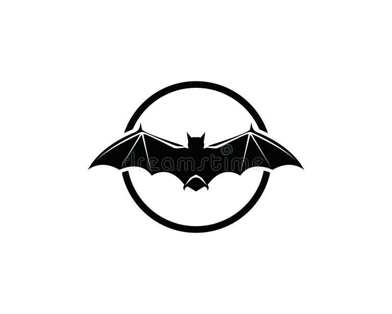 Logotipo do bastão e molde dos símbolos ilustração royalty free
