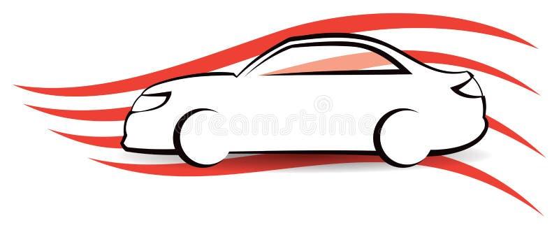 Logotipo do carro ilustração royalty free